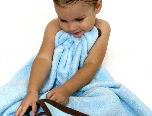 Baby clothing organic cotton luxuriously thick hooded terry towel
