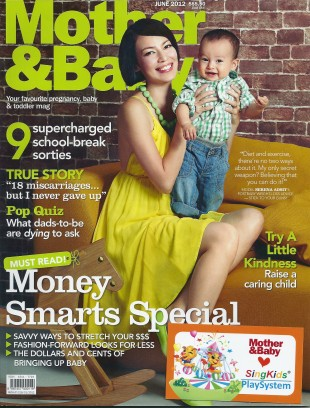 Mother & Baby Singapore Jun 2012 Cover