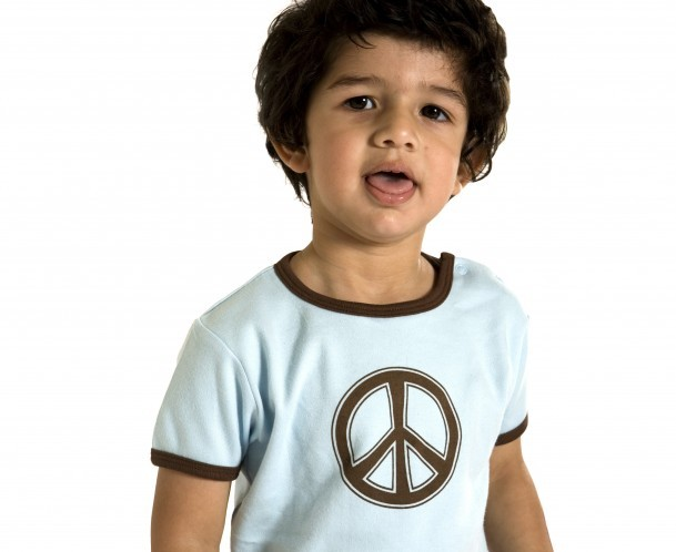 Baby clothing organic cotton t-shirt