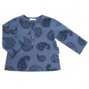 Midnight Paisley Kurta Shirt
